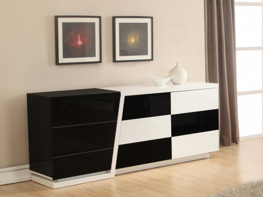 buffet vente unique promo buffet echiquier prix. Black Bedroom Furniture Sets. Home Design Ideas