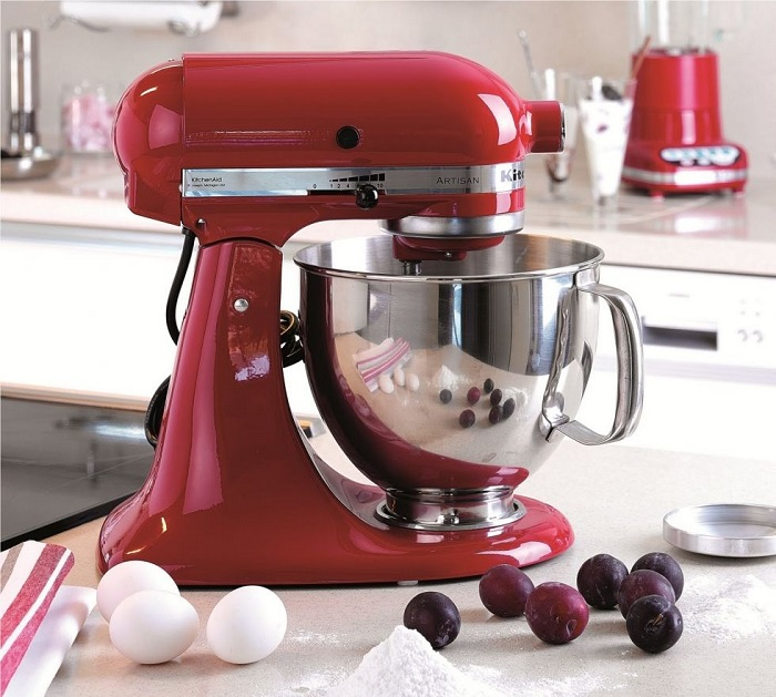 kitchenaid robot 5ksm150pseer rouge artisan pas cher. Black Bedroom Furniture Sets. Home Design Ideas