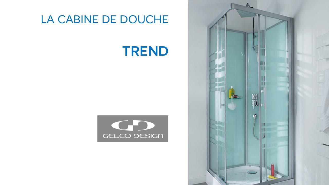 cabine de douche gelco trend 80 x 80 cm pas cher cabine de douche castorama ventes pas. Black Bedroom Furniture Sets. Home Design Ideas