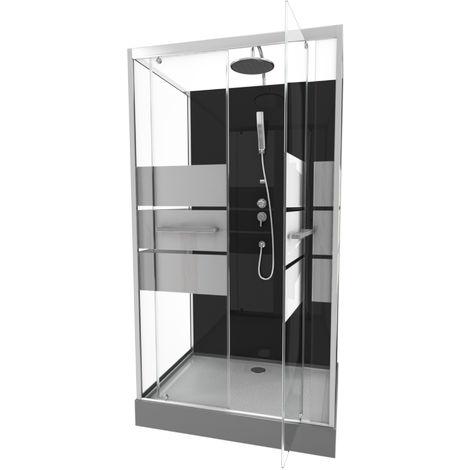 Cabine de douche rectangle SCRATCHY - ManoMano