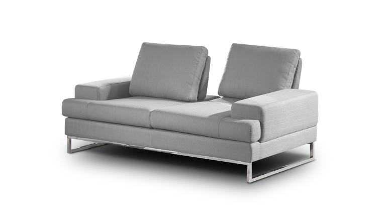 Canapé Borgas 2 places tissu avec dossiers modulables - Mobilier Moss