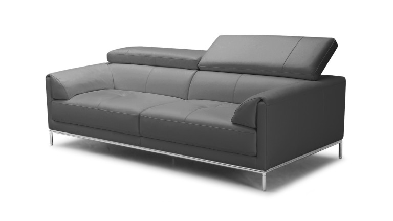 Canapé 3 places Oppland cuir - Mobilier Moss