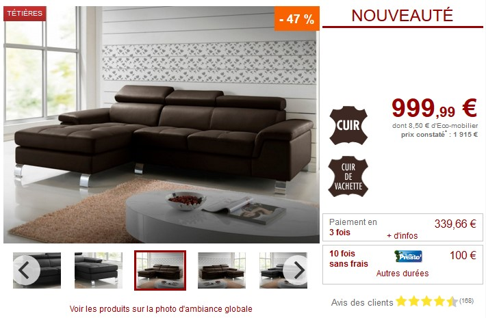 vente unique top promo vente unique meubles et deco pas cher ventes pas. Black Bedroom Furniture Sets. Home Design Ideas