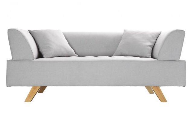 canap design 2 places artic gris canap miliboo ventes pas. Black Bedroom Furniture Sets. Home Design Ideas