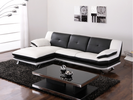canap d 39 angle trikala angle gauche canap vente unique ventes pas. Black Bedroom Furniture Sets. Home Design Ideas