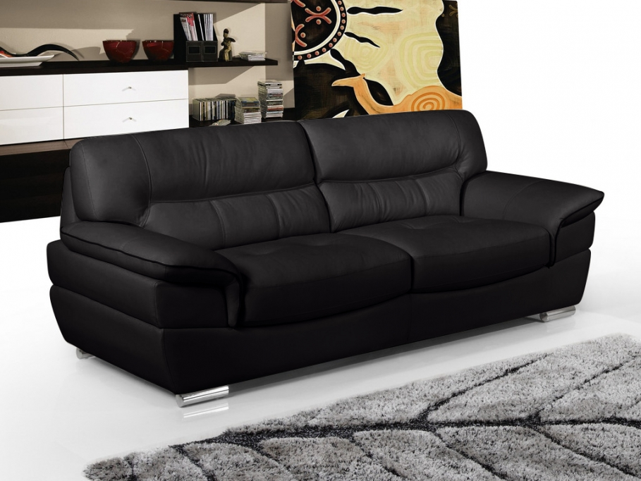 promo canap cuir table de lit a roulettes. Black Bedroom Furniture Sets. Home Design Ideas