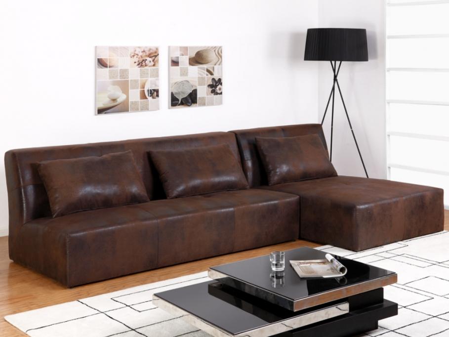 canap d 39 angle r versible en microfibre vieilli tankert canap vente unique ventes pas. Black Bedroom Furniture Sets. Home Design Ideas