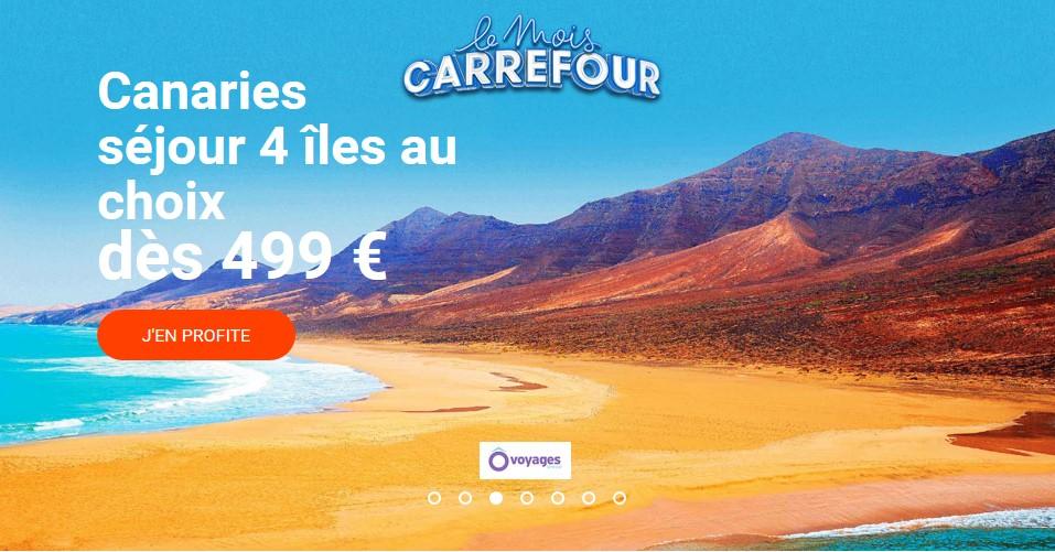 Séjour Canaries Carrefour Voyages
