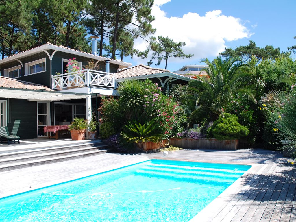 Abritel Location Le Cap Ferret - Villa de charme Cap Ferret avec piscine chauffée entre bassin et océan