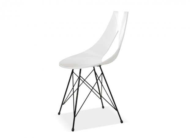 Chaise design rubann v chaise design achatdesign - Chaise metal industriel pas cher ...
