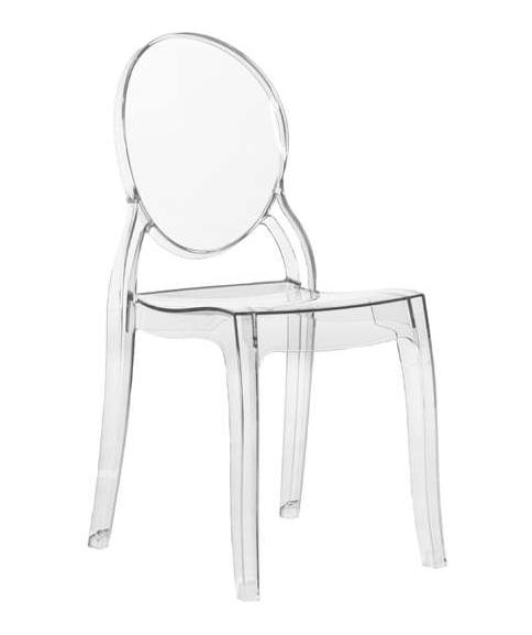 Soldes chaises achatdesign chaise elizabeth m daillon for Conforama chaise transparente
