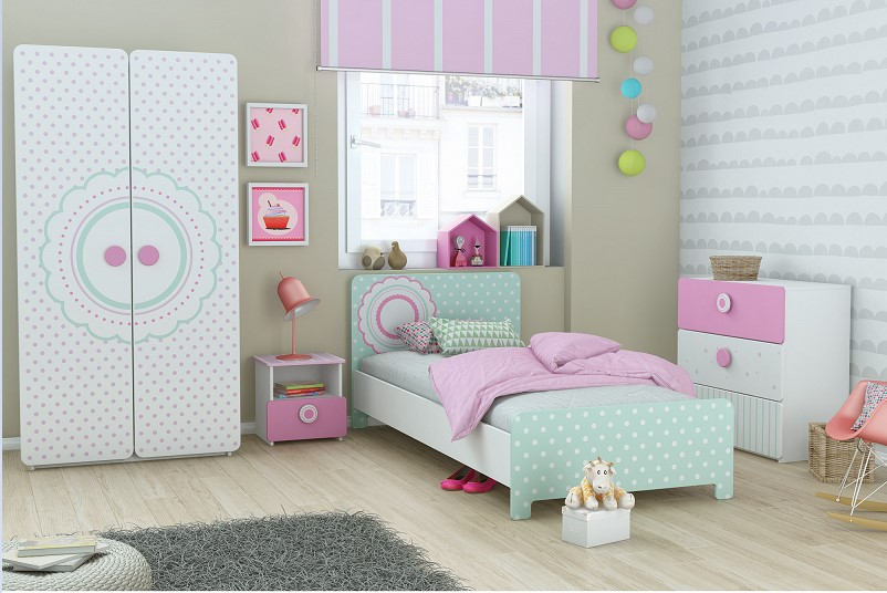 perfect chambre complte chambre compluete suzette pas cher lit enfant delamaison ventes with. Black Bedroom Furniture Sets. Home Design Ideas