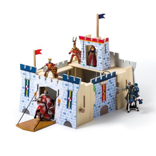 Château fort transportable Imagibul création Oxybul - Jeux d'imagination Oxybul Eveil et Jeux