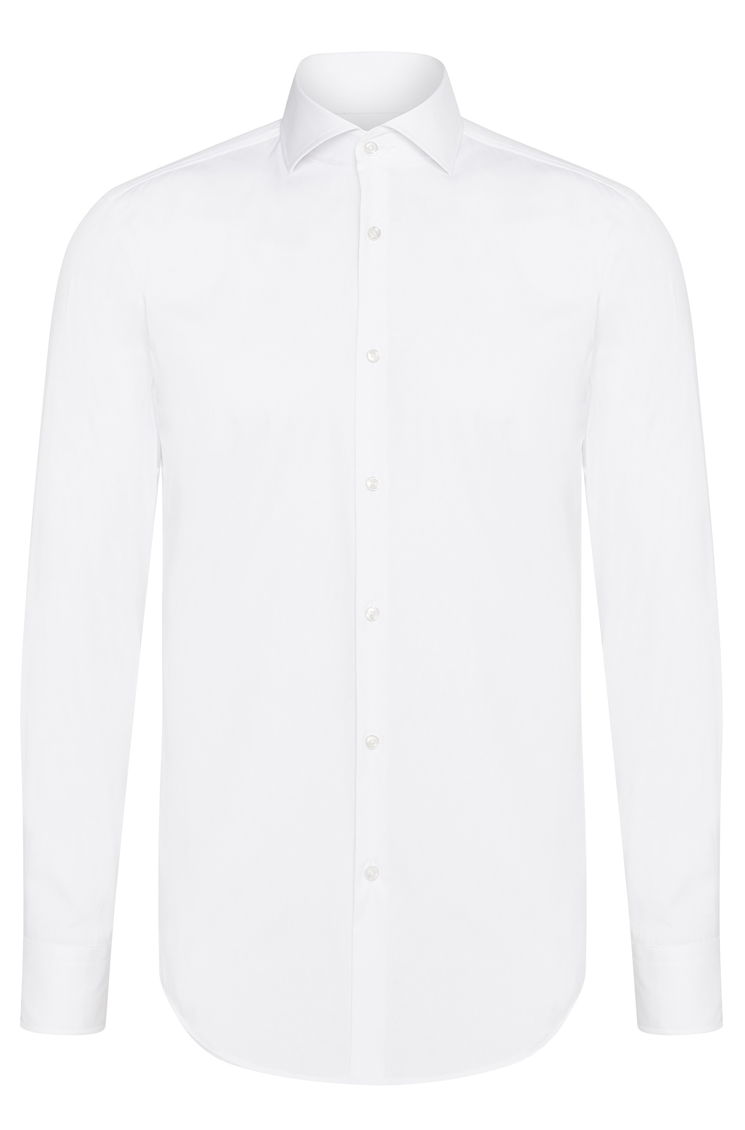 Hugo Boss Jason Chemise Slim Fit en popeline stretchn