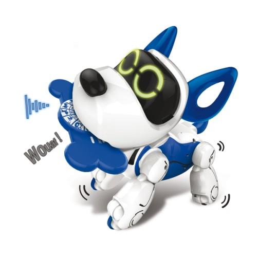 Chien programmable Pupbo bleu Silverlit - Jeux Interactifs Oxybul Eveil et Jeux