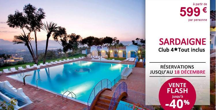 Ôclub Experience Arbatax Resort 4** à Arbatax en Sardaigne - Leclerc Voyages