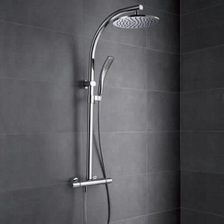 COLONNE DE DOUCHE OBLO CHROME JACOB DELAFON - ManoMano