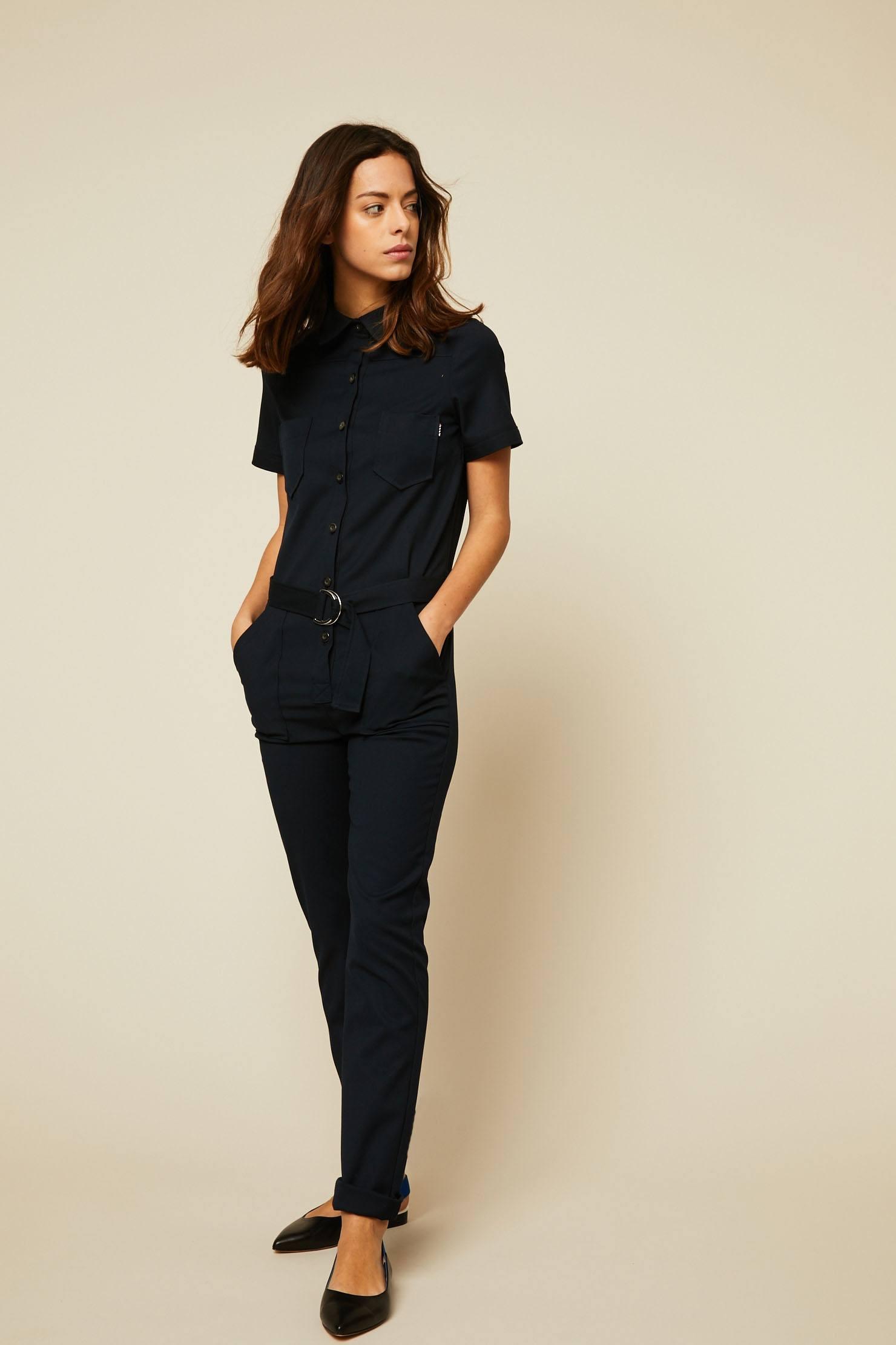 La Petite Française Carillon Combi-pantalon noir
