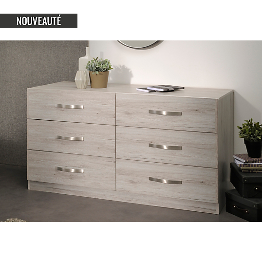 Commode 6 tiroirs p pita camif commode camif ventes pas - Camif commode ...