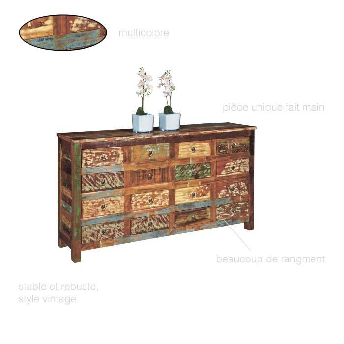 Grande Commode Vintage 16 tiroirs