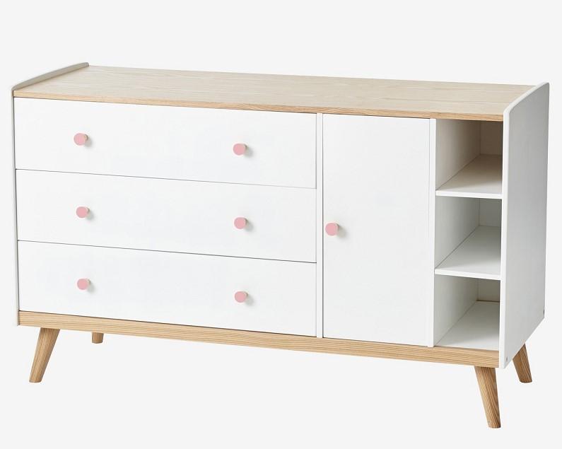 commode en bois pas cher cool commode annes bois et rotin with commode en bois pas cher. Black Bedroom Furniture Sets. Home Design Ideas