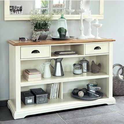 Console pas cher la maison de valerie console 2 tiroirs for La maison de valerie meubles