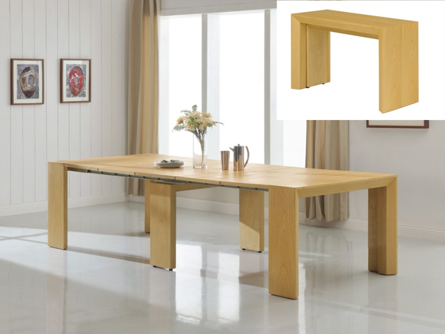 Table console vente unique - Table extensible pas chere ...