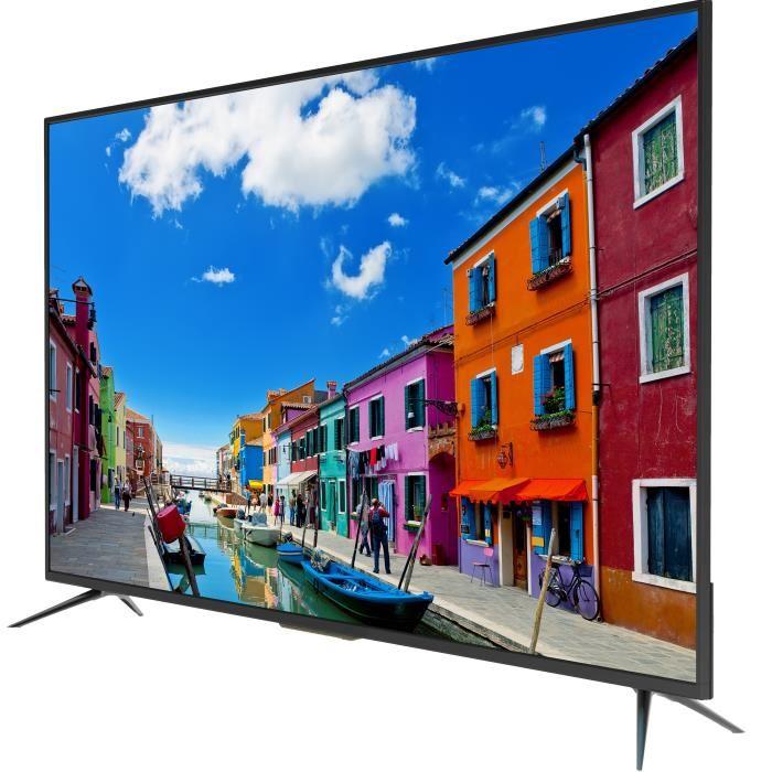 continental edison tv 4k uhd 140 cm pas cher soldes t l viseur cdiscount soldes cdiscount top