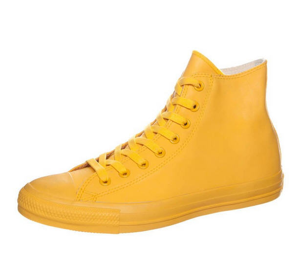 converse chuck taylor all star baskets montantes jaune. Black Bedroom Furniture Sets. Home Design Ideas