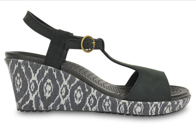 Soldes Sandales Crocs - Women's A-leigh Ikat Wedge