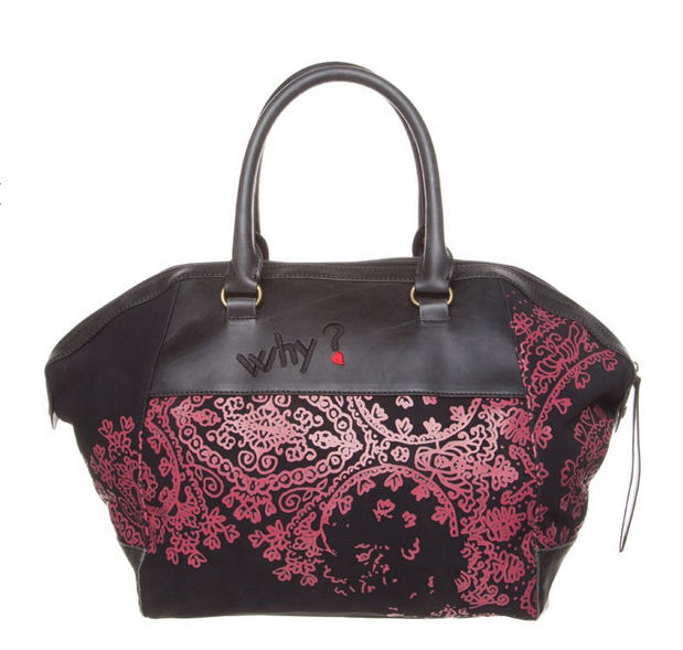 desigual monaco sweet pekin sac main noir sacs main. Black Bedroom Furniture Sets. Home Design Ideas