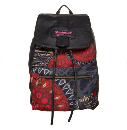 desigual osford sac dos noir sacs dos zalando ventes pas. Black Bedroom Furniture Sets. Home Design Ideas