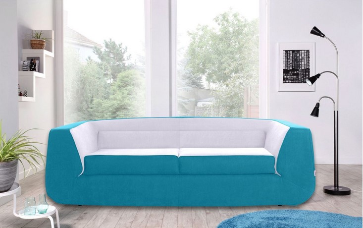 DUNLOPILLO BUMP Convertible Sofa XL
