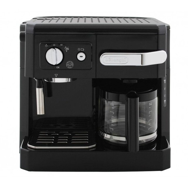 combin cafeti re filtre expresso bco 410 1 delonghi. Black Bedroom Furniture Sets. Home Design Ideas