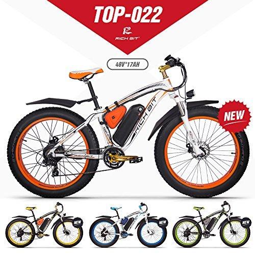 eBike RICHBIT VTT Vélo électrique Hybride Homme de Montagne RLH-022