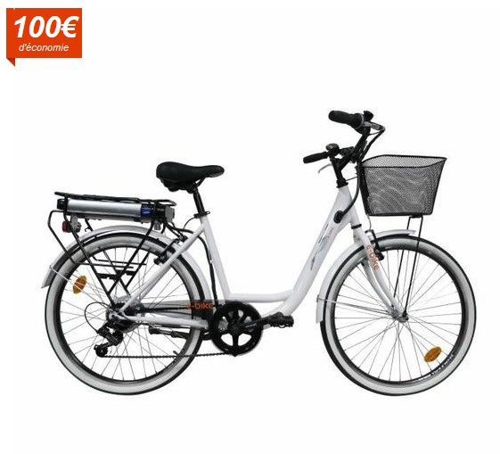 ebike v lo electrique ville vae city pas cher v lo. Black Bedroom Furniture Sets. Home Design Ideas