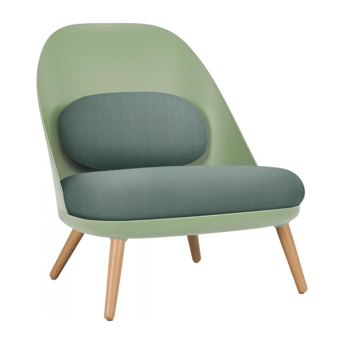 Enio Chaise Design en Tissu Ver Habitat