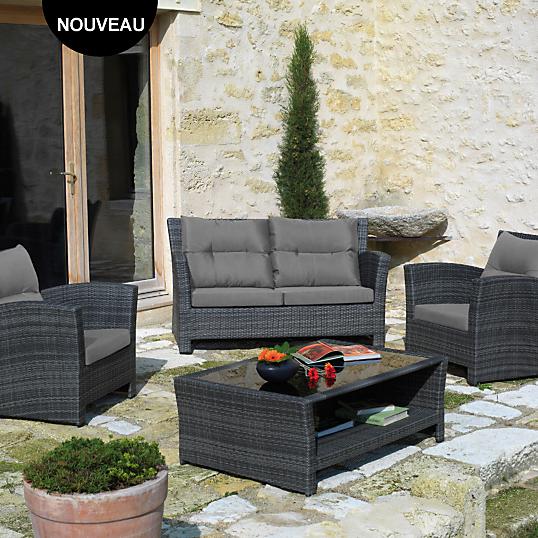emejing salon de jardin aluminium camif pictures awesome interior home satellite. Black Bedroom Furniture Sets. Home Design Ideas