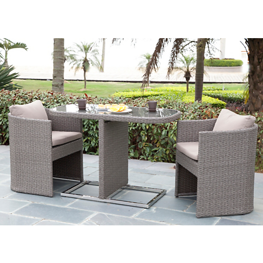 ensemble repas bari table 2 fauteuils salon de jardin camif ventes pas. Black Bedroom Furniture Sets. Home Design Ideas