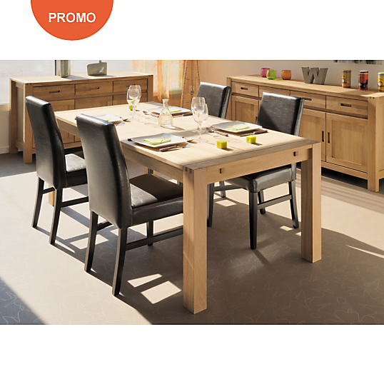 Soldes table camif ensemble table 4 chaises for Table 4 chaises pas cher