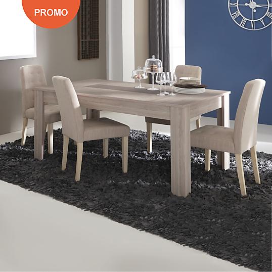 Achat meuble pas cher meubles prix discount canap for Ensemble table 4 chaises pas cher