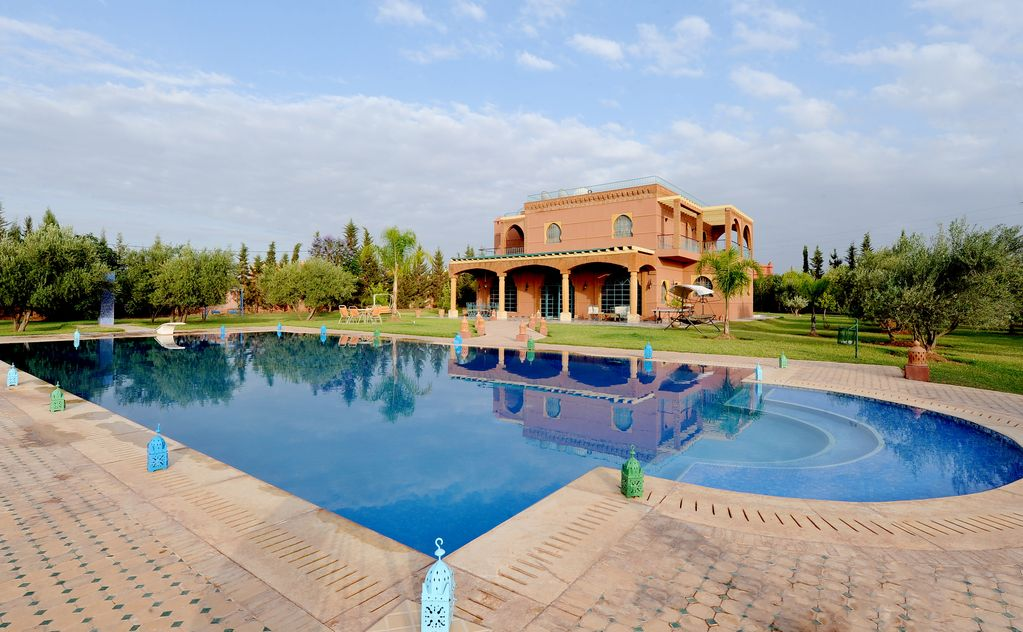 Abritel Location Marrakech - Villa Dar Moudar, villa exclusive avec grand jardin à Marrakech