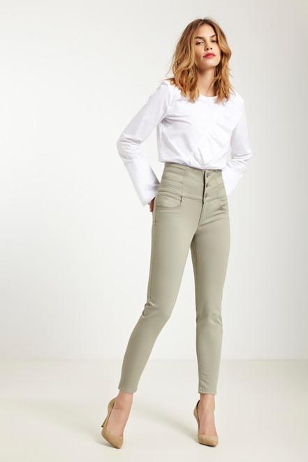 Jean skinny taille haute Morgan