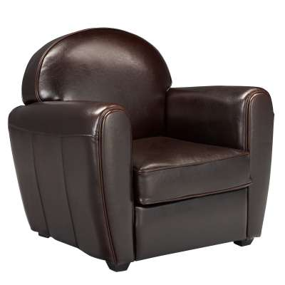 fauteuil alinea fauteuil club en cuir habana ventes pas. Black Bedroom Furniture Sets. Home Design Ideas