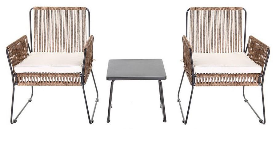 Achat meuble pas cher meubles prix discount canap cuisine lit table ventes pas - Fauteuil en fil de resine ...