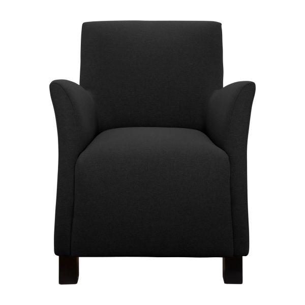 mercure fauteuil en tissu anthracite habitat fauteuil. Black Bedroom Furniture Sets. Home Design Ideas