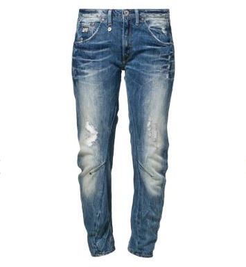 G-Star ARC 3D KATE TAPERED Jean boyfriend bleu