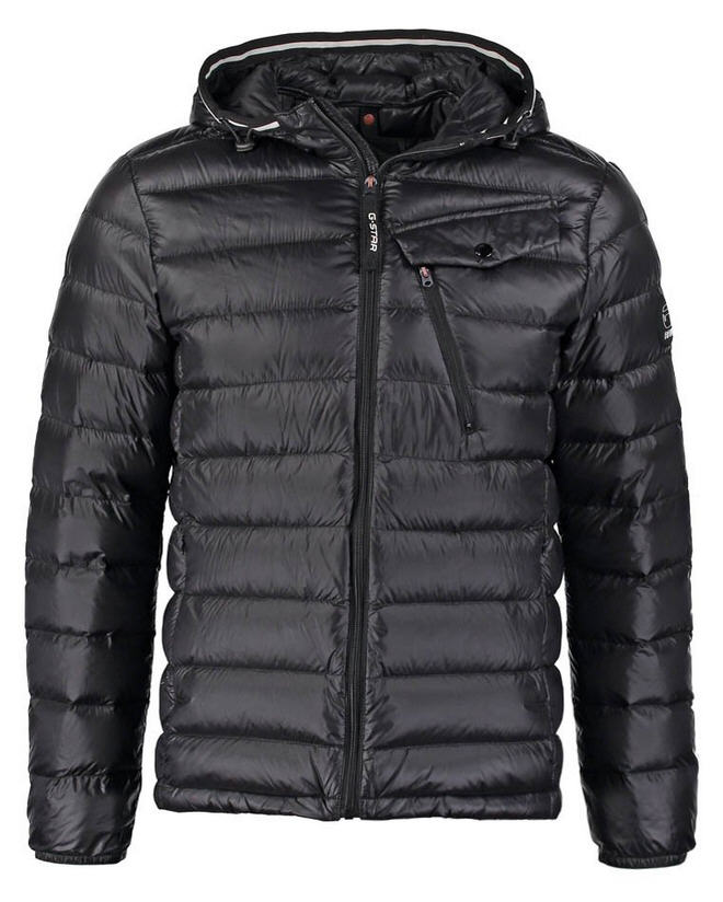 G-Star REVEND HOODED DOWN JKT Doudoune black