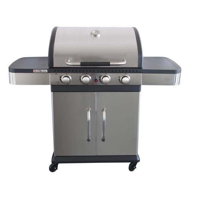 grill garden barbecue gaz 4 br leurs pas cher barbecue. Black Bedroom Furniture Sets. Home Design Ideas