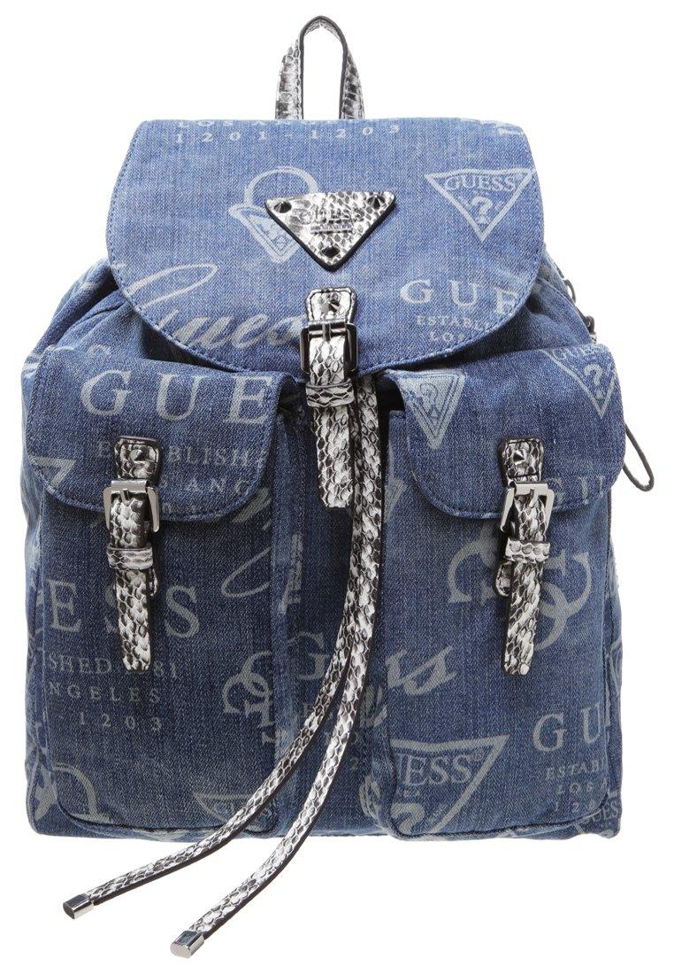 guess marrakech sac dos bleu sacs dos guess zalando ventes pas. Black Bedroom Furniture Sets. Home Design Ideas